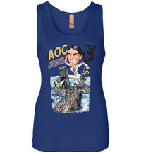 Women's AOC the Queen of New York Tank