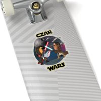 Czar Wars Kiss-Cut Stickers