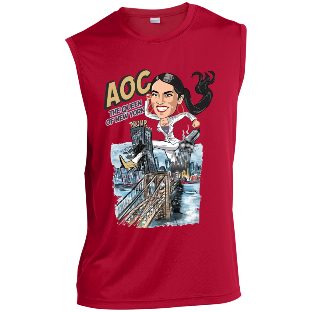 AOC The Queen of New York Muscle Sports Tank