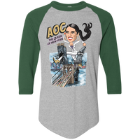AOC The Queen of New York Baseball Tee