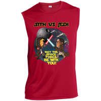 Sith vs Jedi Muscle Sports Tank