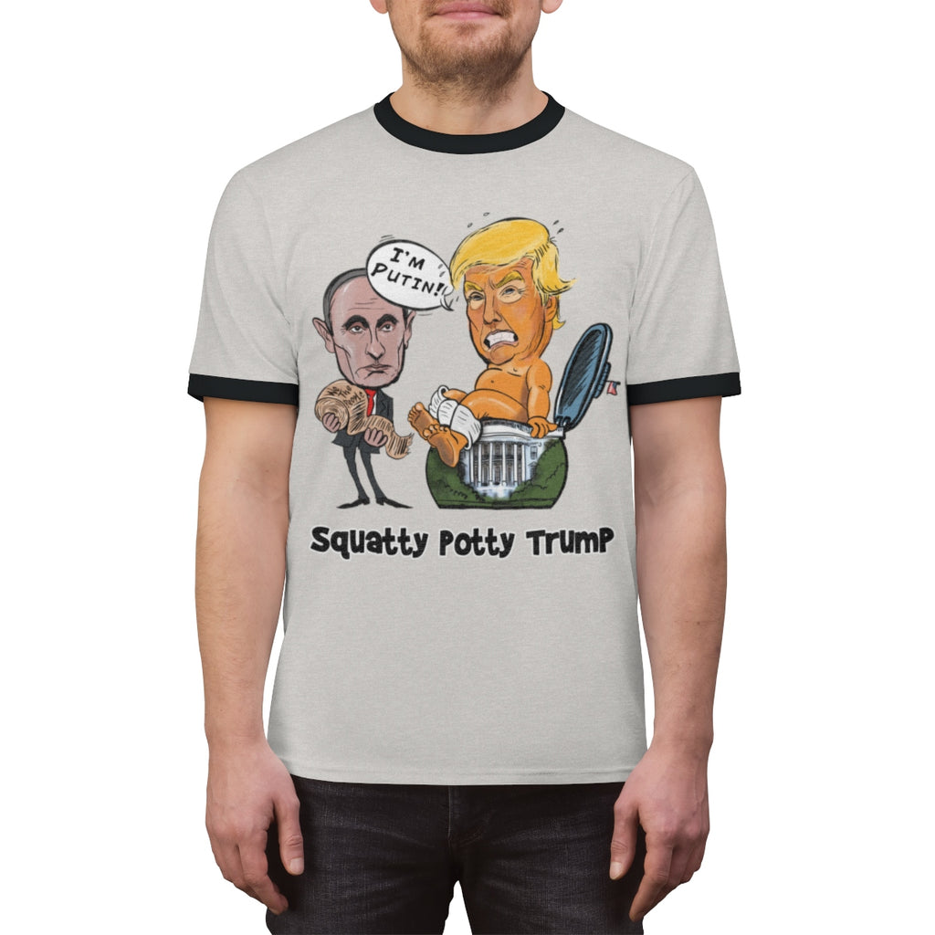 Squatty Potty Baby Trump Ringer Tee