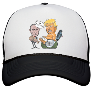 Squatty Potty Trump Snapback Trucker Hat