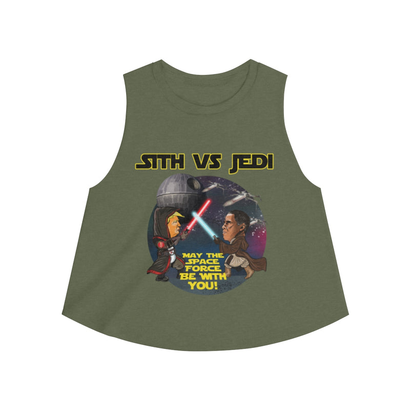 Women's Sith Vs Jedi Crop Top