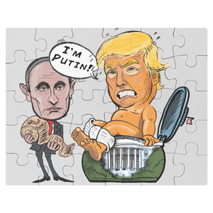 Squatty Potty Trump Jigsaw Puzzle