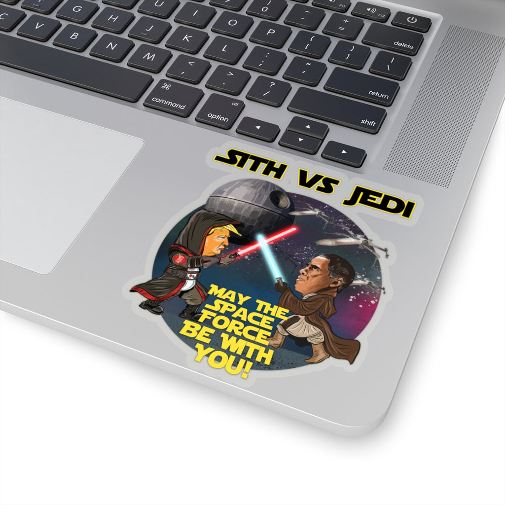 Sith Vs Jedi Kiss-Cut Stickers