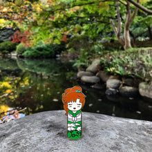 Kawaii Kokeshi Lightning Maiden Enamel Pin