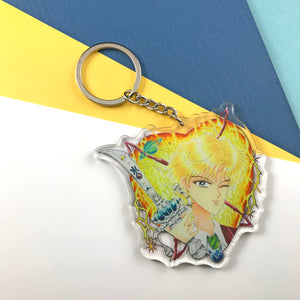 "3"" Winking Magical Girl Acrylic Keychains"