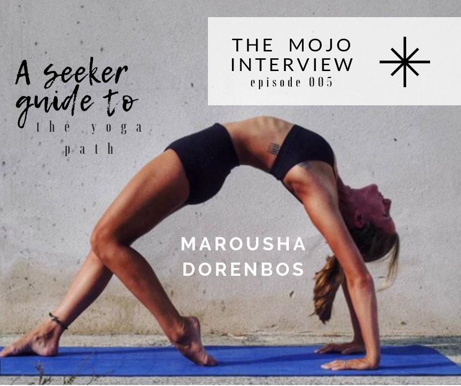Marousha, self-educated yogi searching for her limits