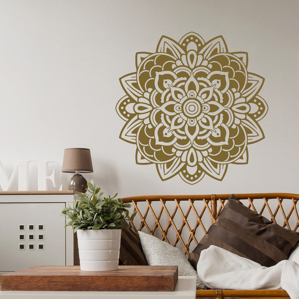 Mandala Flower Sticker