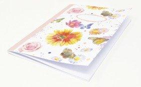 Flowers, Butterflies & Bee Jotter