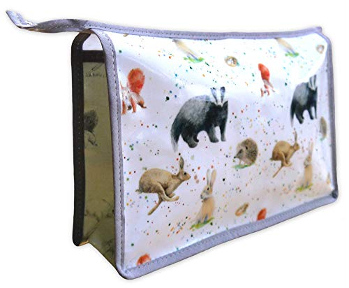 Badger hare squirrel hedgehog wash bag gift