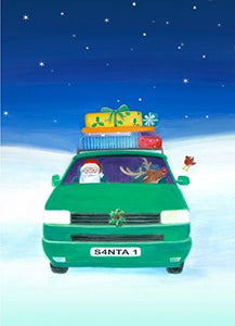 Bright Campervan Christmas cards