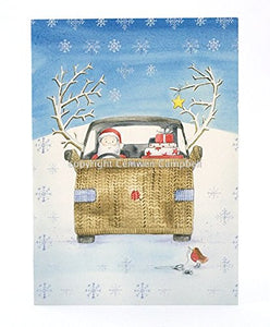 Campervan and car Watercolour collection  Christmas Cards