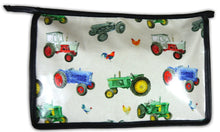 Tractor & Chicken Toiletry Wash Bag