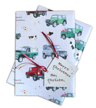 Defender Off Roader 4 x 4  Christmas Wrapping Paper