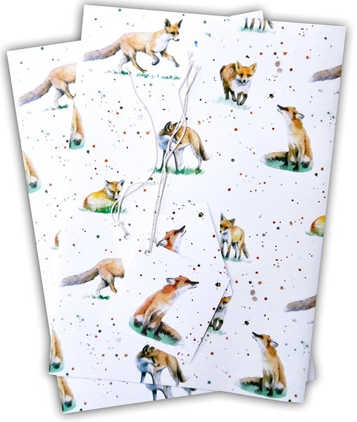 Fox Wrapping Paper