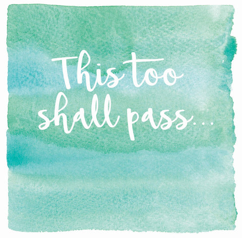This too shall pass the arty penguin Ceinwen Campbell