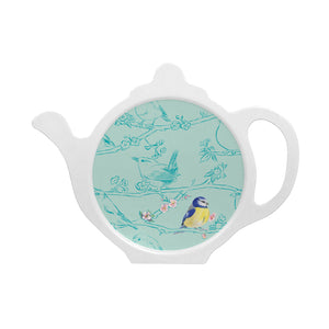 Garden bird tea bag tidy blue tit Ceinwen Campbell The Arty Penguin