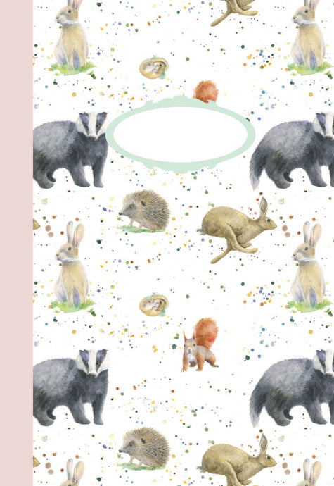 Country Animals Jotter