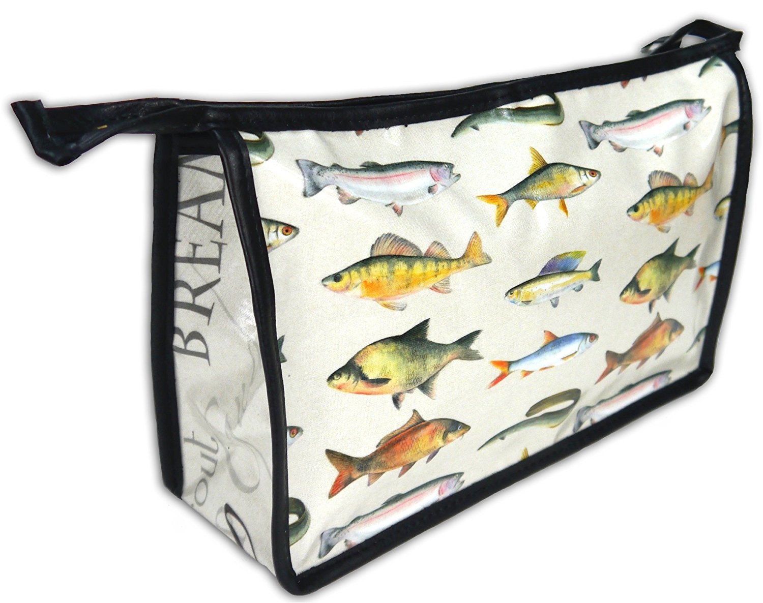 Fish toiletry wash bag Ceinwen Campbell and The Arty Penguin