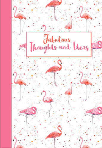 Flamingo flamingos jotter notebook gift