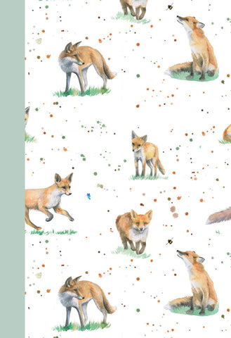 Fox jotter notepad