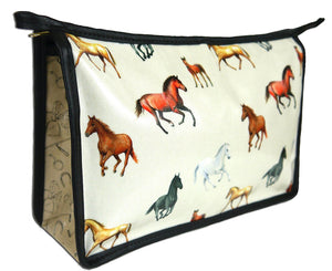 Horses Toiletry Wash Bag
