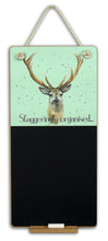 Stag scottish gift chalkboard by Ceinwen Campbell and The Arty Penguin