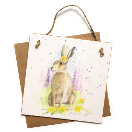 Good Hare Day Keepsake 'Card'