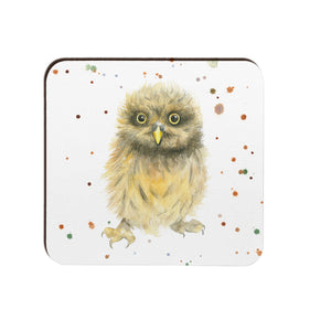 Owl Chick Coaster