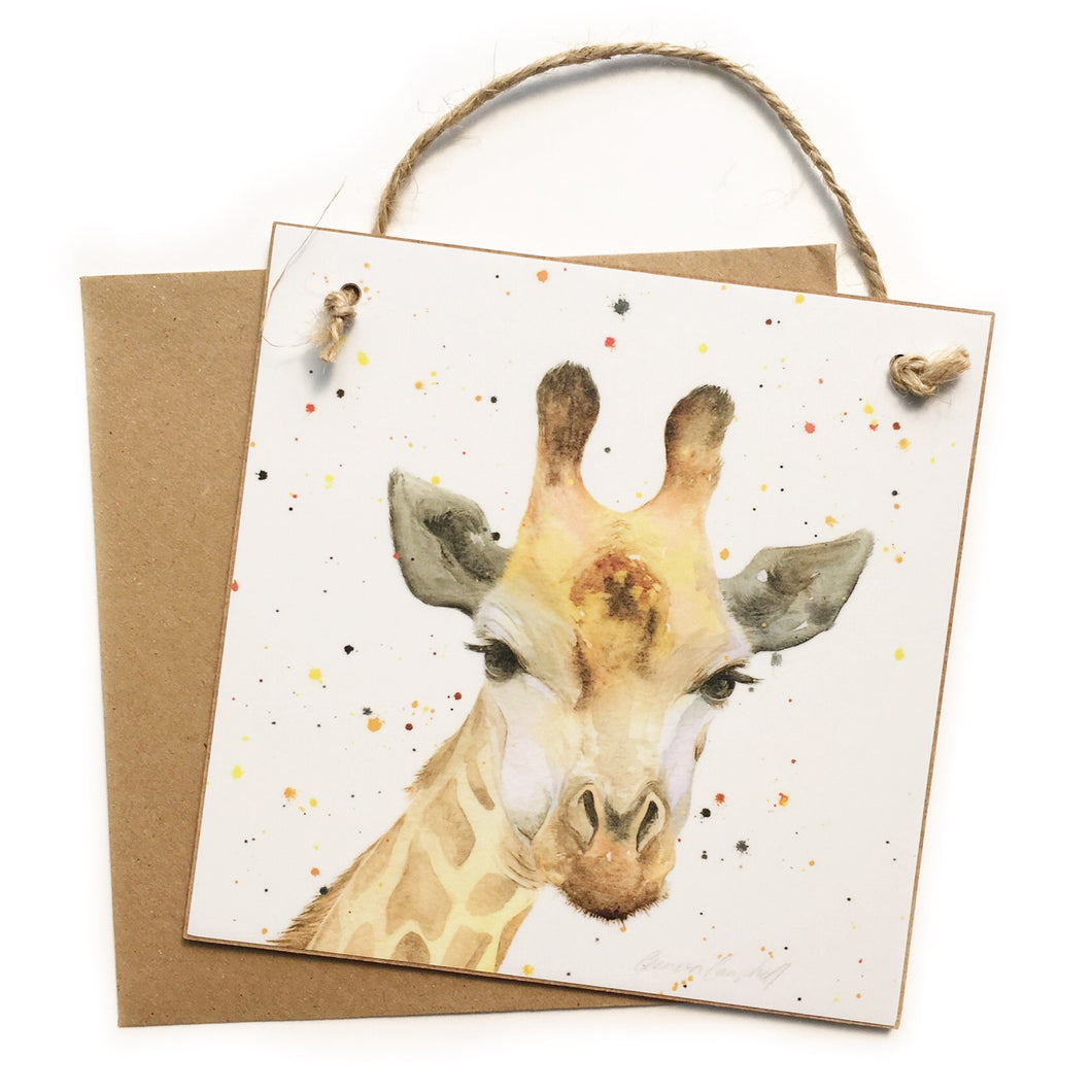 Giraffe Keepsake 'Card'