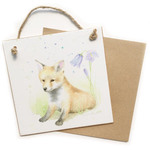 Fox Cub Keepsake 'Card'