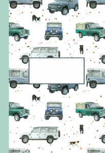 Defender off roader 4 x 4 jotter