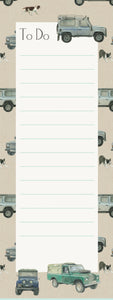 "Land Rover Defender ""To Do"" Memo Pad"