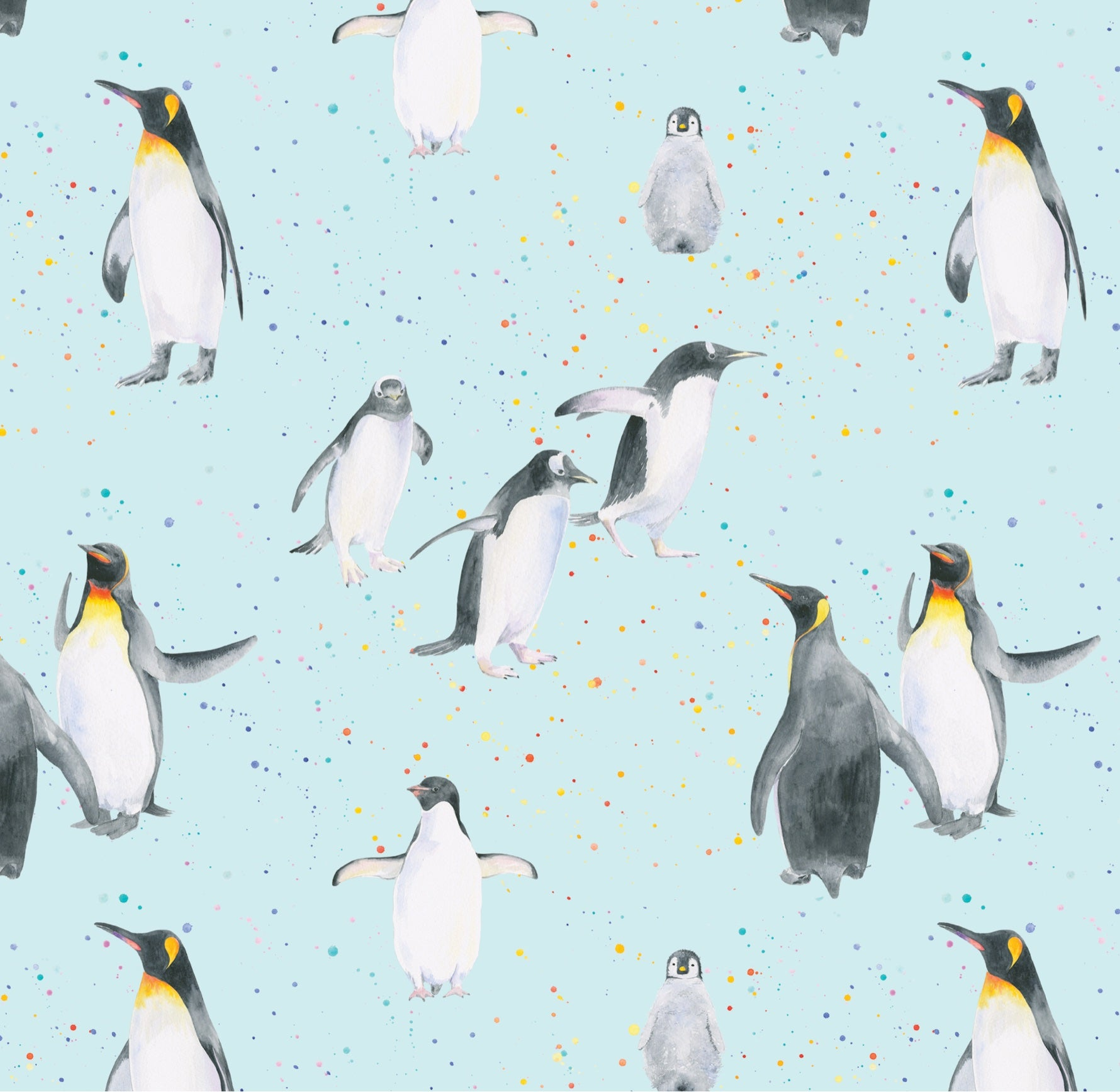 Penguin Wrapping Paper