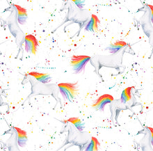 Unicorn unicorns gift wrapping paper by Ceinwen Campbell and The Arty Penguin