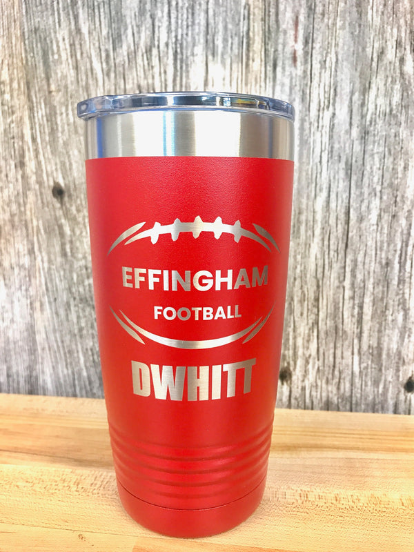 Personalized Insulated Drinking Tumbler