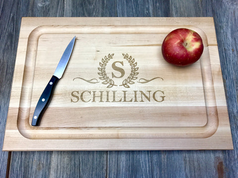 Personalized John Boos Cutting Boards