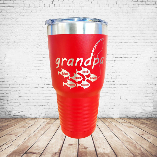 Grandpa Fishing Tumbler