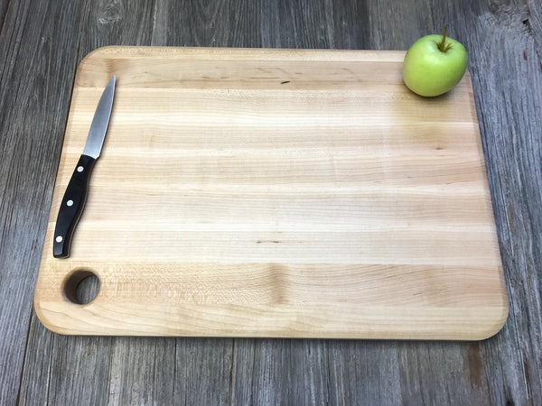 John Boos Cutting Board with Juice Groove and Finger hole Personalized