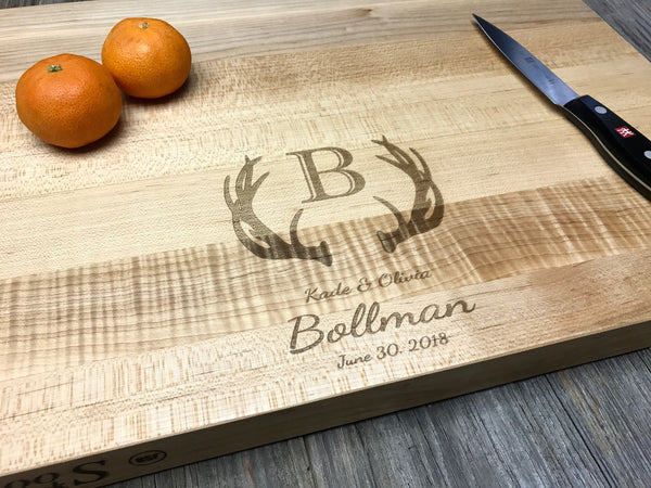 18x12x1.5 John Boos Maple Wood Cutting Board Butcher Block