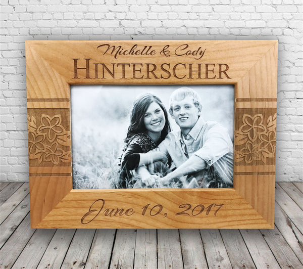Personalized Wood Photo Frame