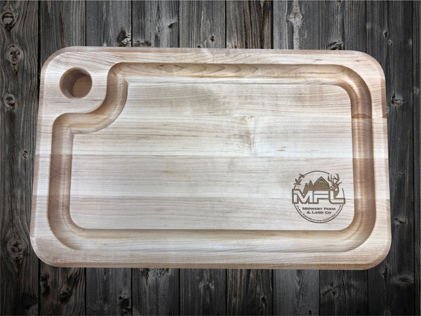 Real Estate Closing Gift John Boos Cutting Board with Logo