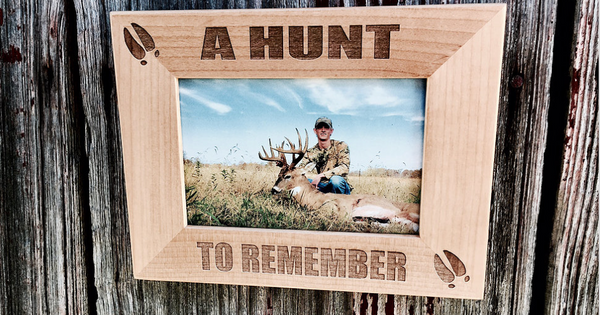 Hunting Themed Wood Picture Photo Frame