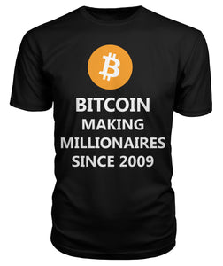 Bitcoin Millionaires T-Shirt & Hoodie - Bitcoin Merch Outlet