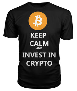 Keep Calm Bitcoin T Shirt & Hoodie - Bitcoin Merch Outlet