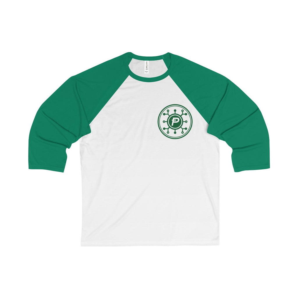 Unisex 3/4 Sleeve PotCoin Tee - Bitcoin Merch Outlet