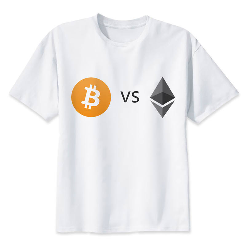 Ethereum VS Bitcoin T-Shirt - Bitcoin Merch Outlet
