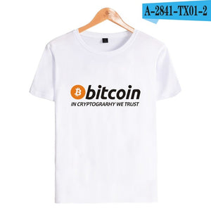 Bitcoin Tee T- Shirt - Bitcoin Merch Outlet